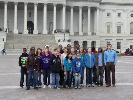 Studying the Legislative Branch at the US Capitol